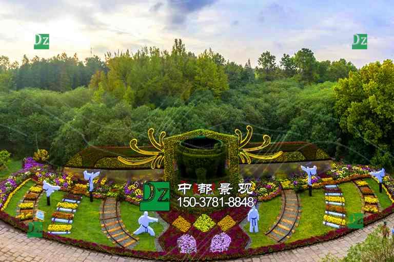 郑州立体花坛
