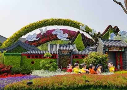 专业绿雕制作公司解析植物绿雕设计施工方案